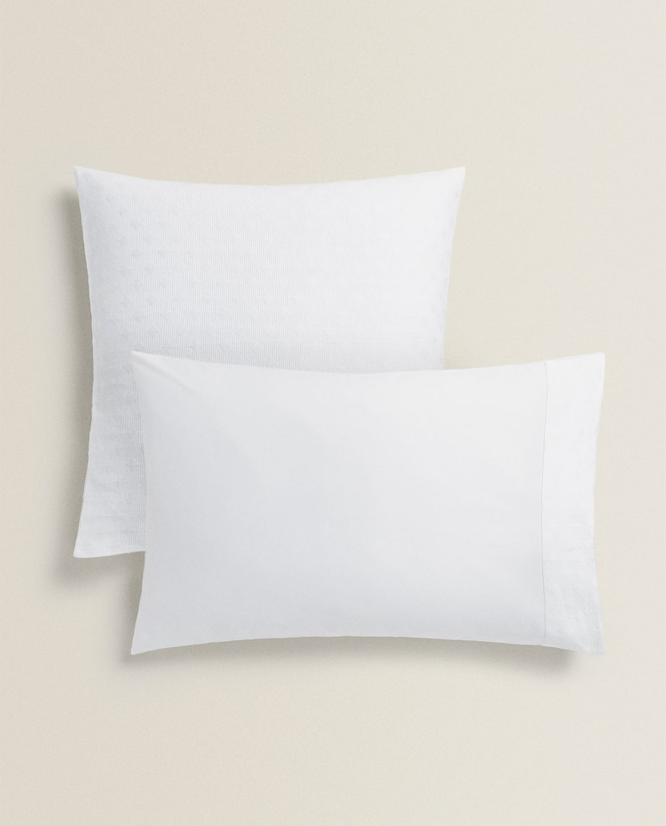 QUILTED BEDSPREAD PILLOWCASE
