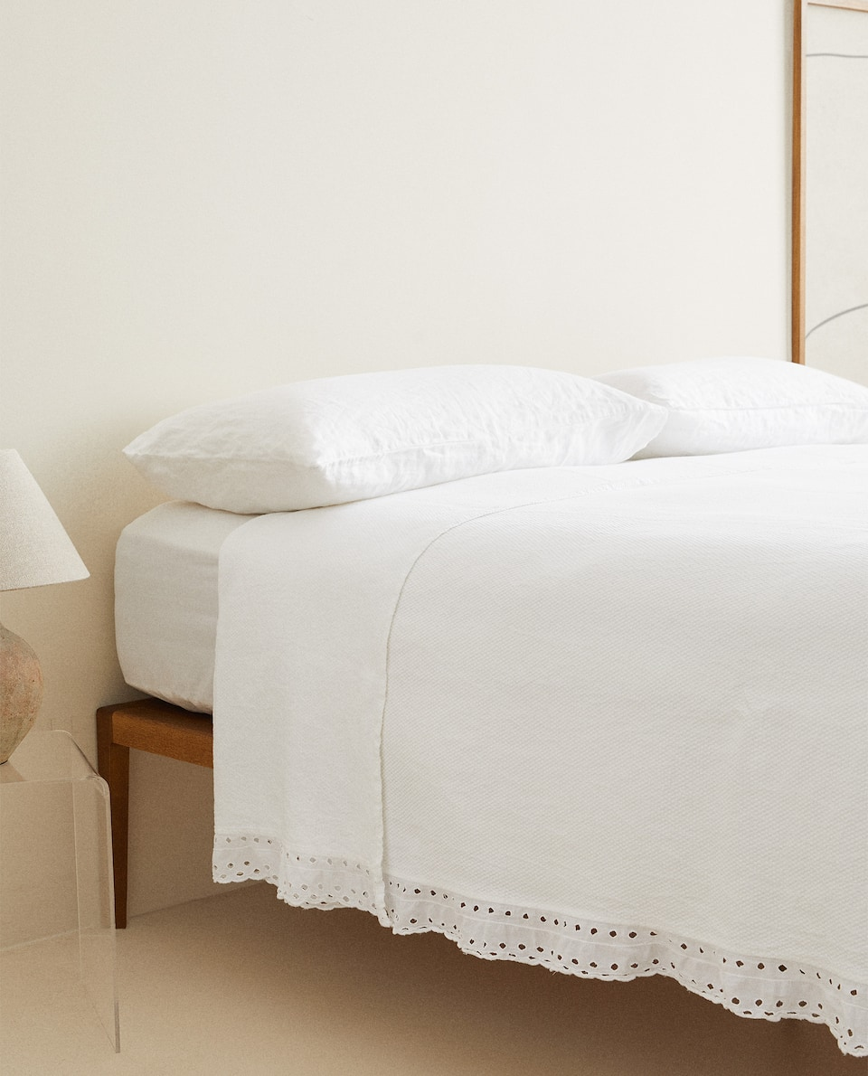 WASHED COTTON BEDSPREAD