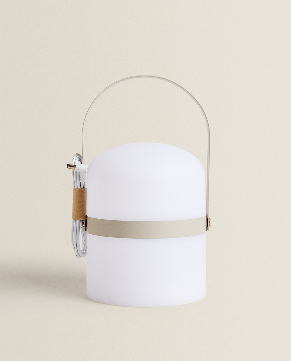 LAMP WITH HANDLE
