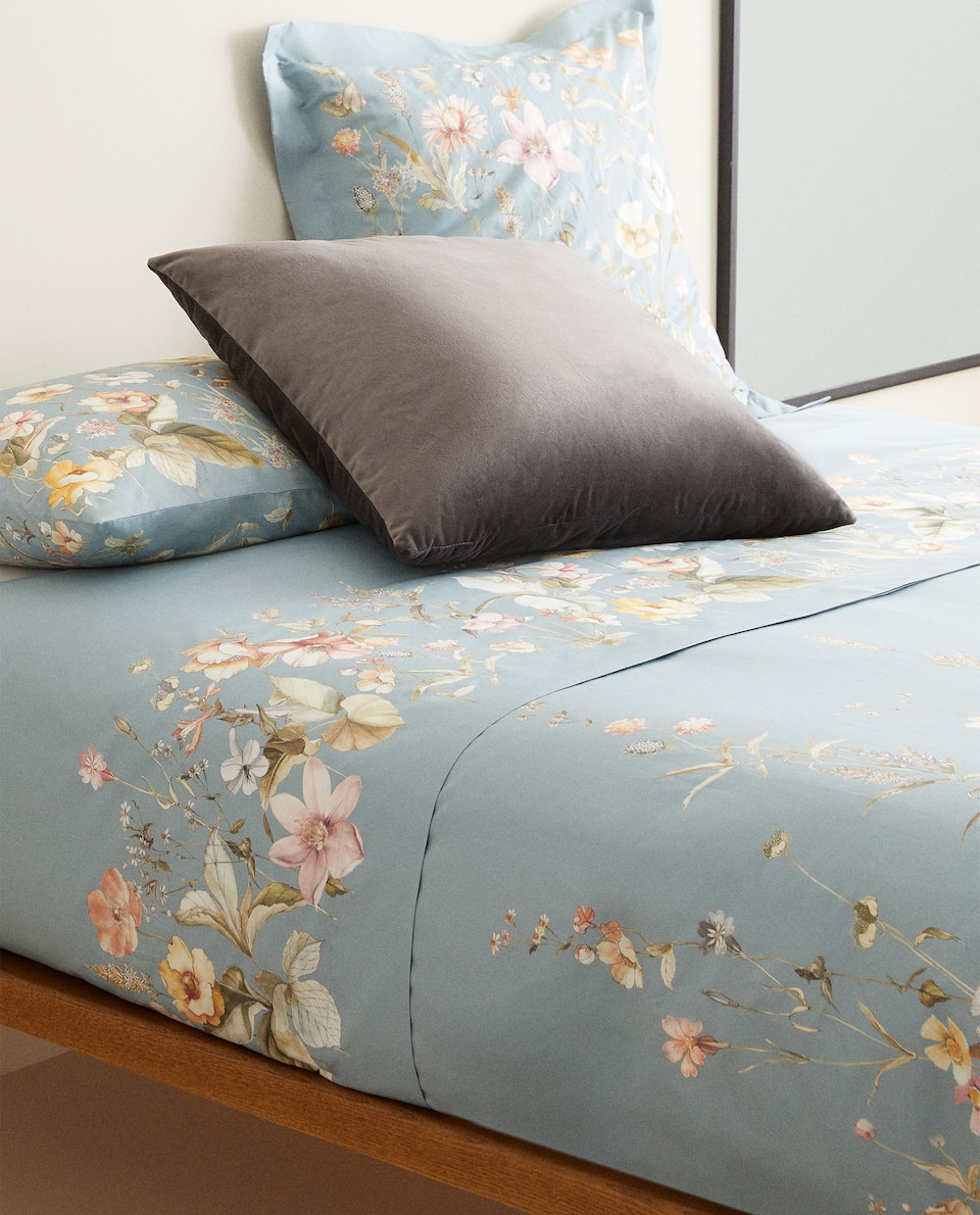 WILD FLOWER DUVET COVER