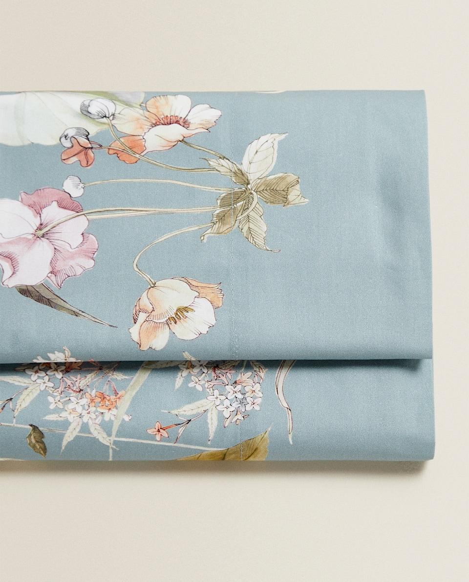 WILD FLOWER PRINT FLAT SHEET