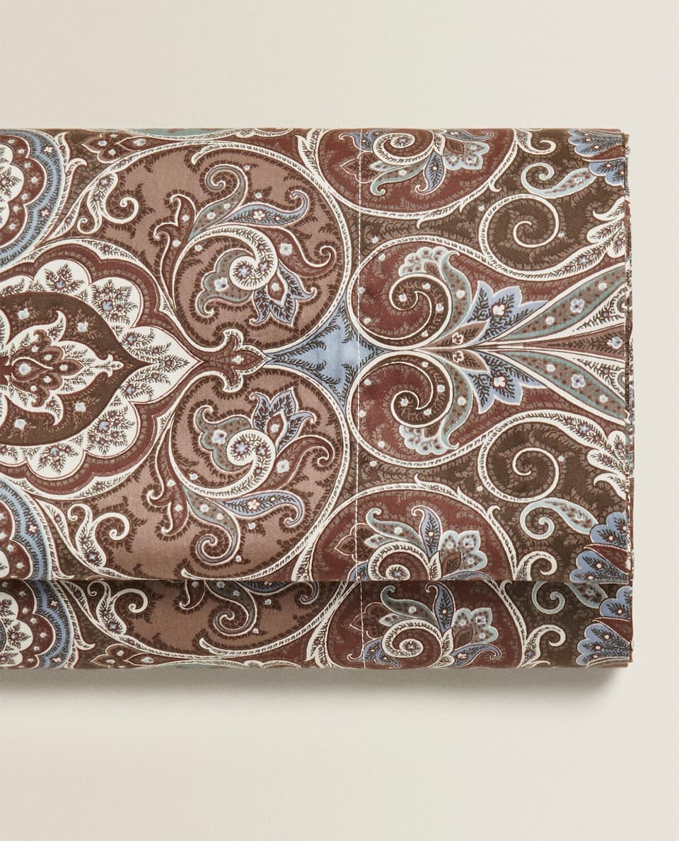 PAISLEY SATEEN FLAT SHEET