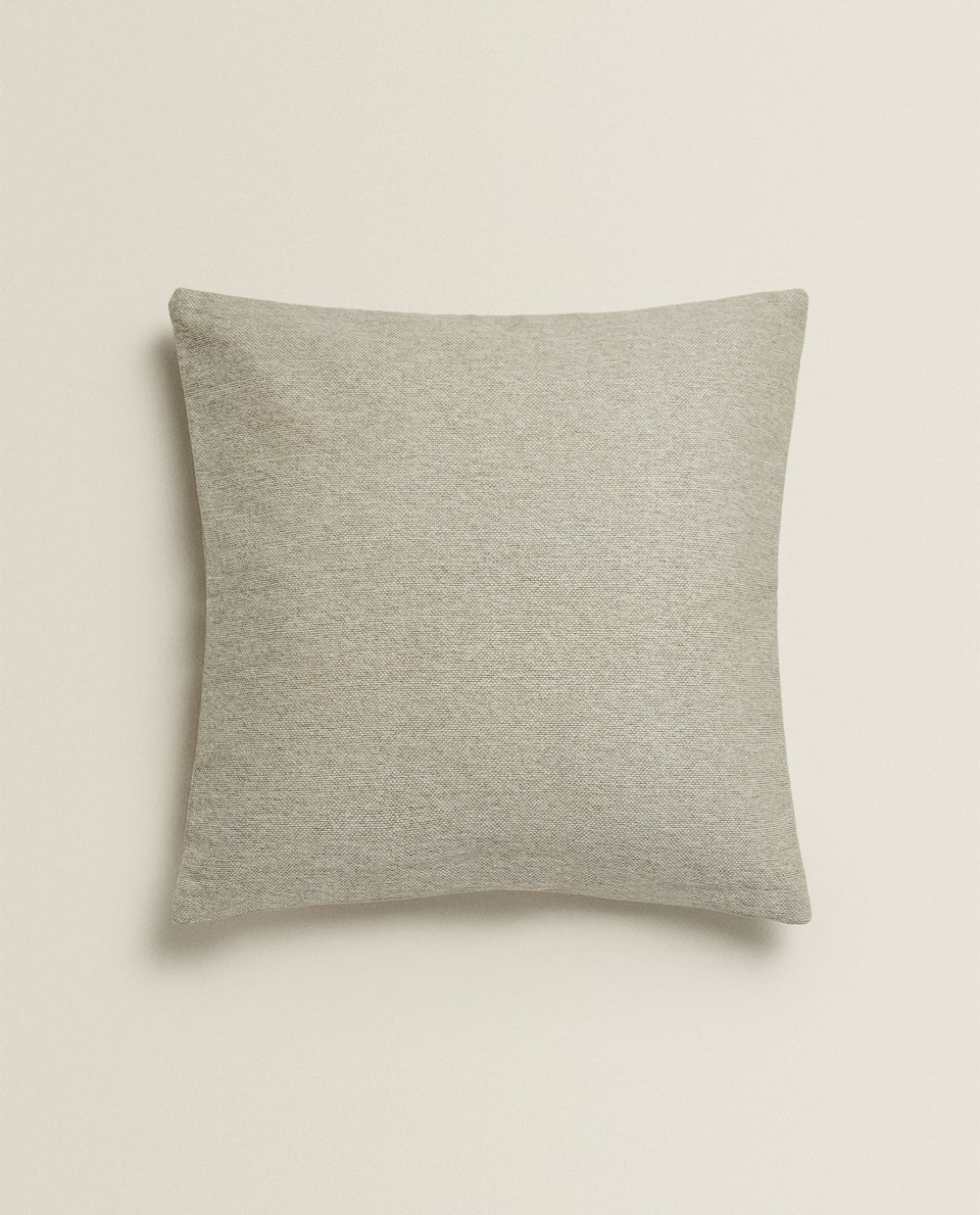 WASHED COTTON THROW PILLOW