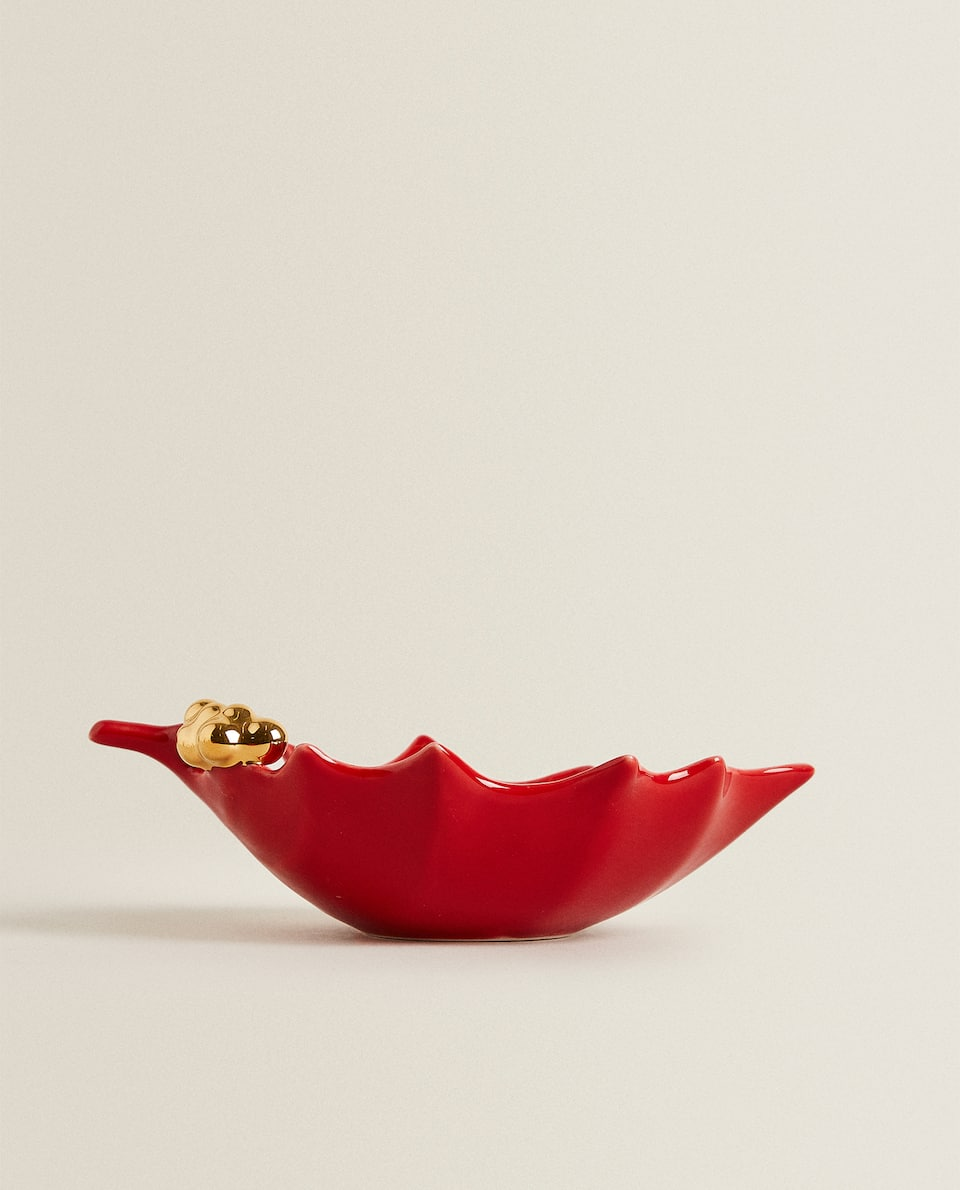 HOLLY LEAF MINI BOWL