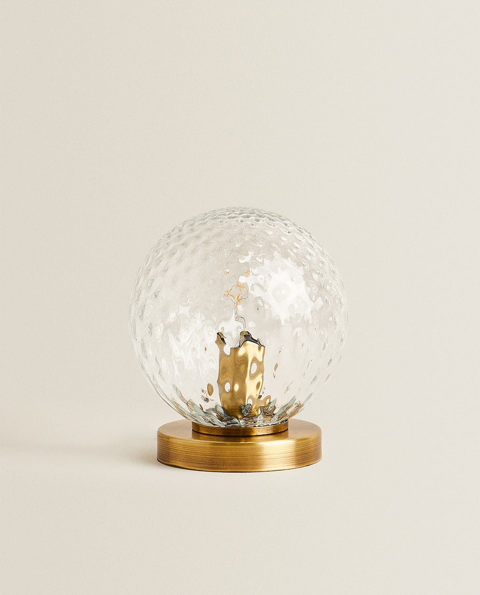 CRYSTAL BALL LAMP