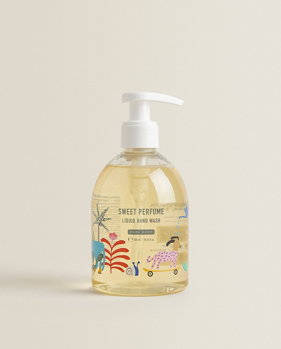 (300 ML) SWEET PERFUME LIQUID HAND SOAP