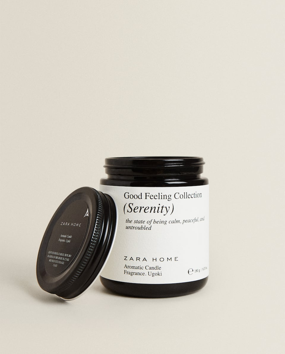 """SERENITY"" SCENTED CANDLE (180 G)"