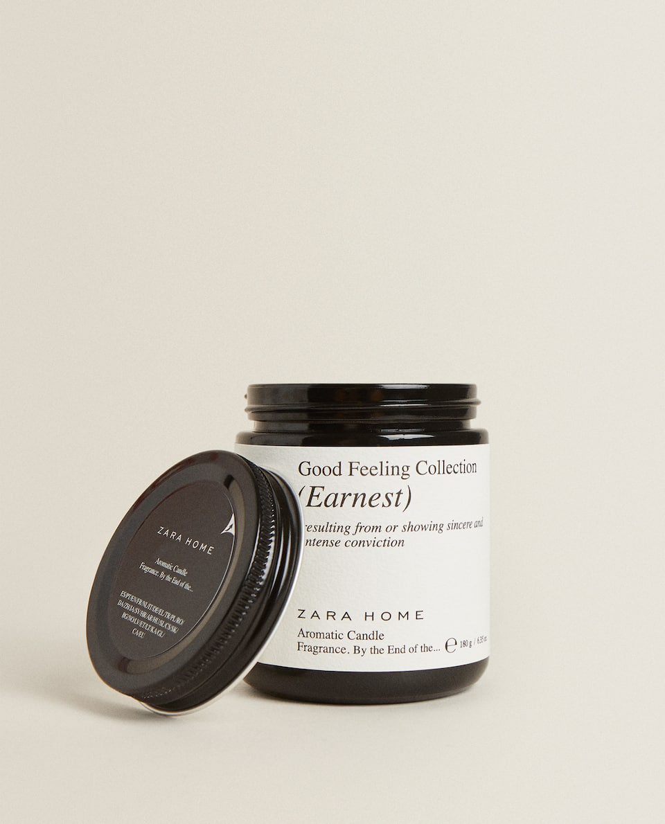 """EARNEST"" SCENTED CANDLE (180 G)"