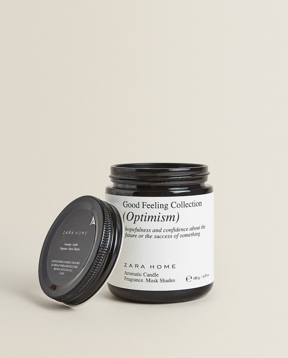 """OPTIMISM"" SCENTED CANDLE (180 G)"