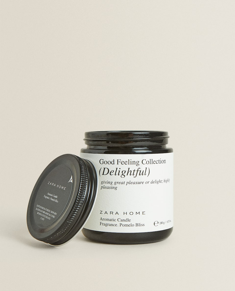 """DELIGHTFUL"" SCENTED CANDLE (180 G)"