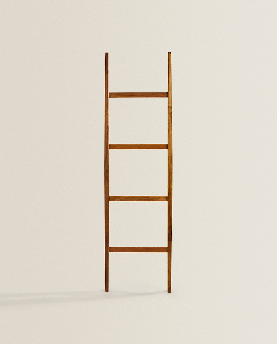 ACACIA WOOD LADDER