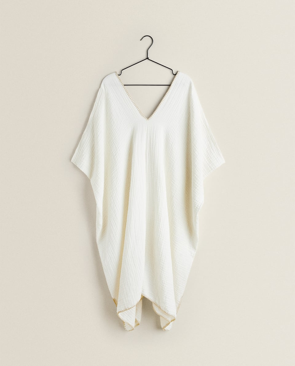 WASHED COTTON TUNIC