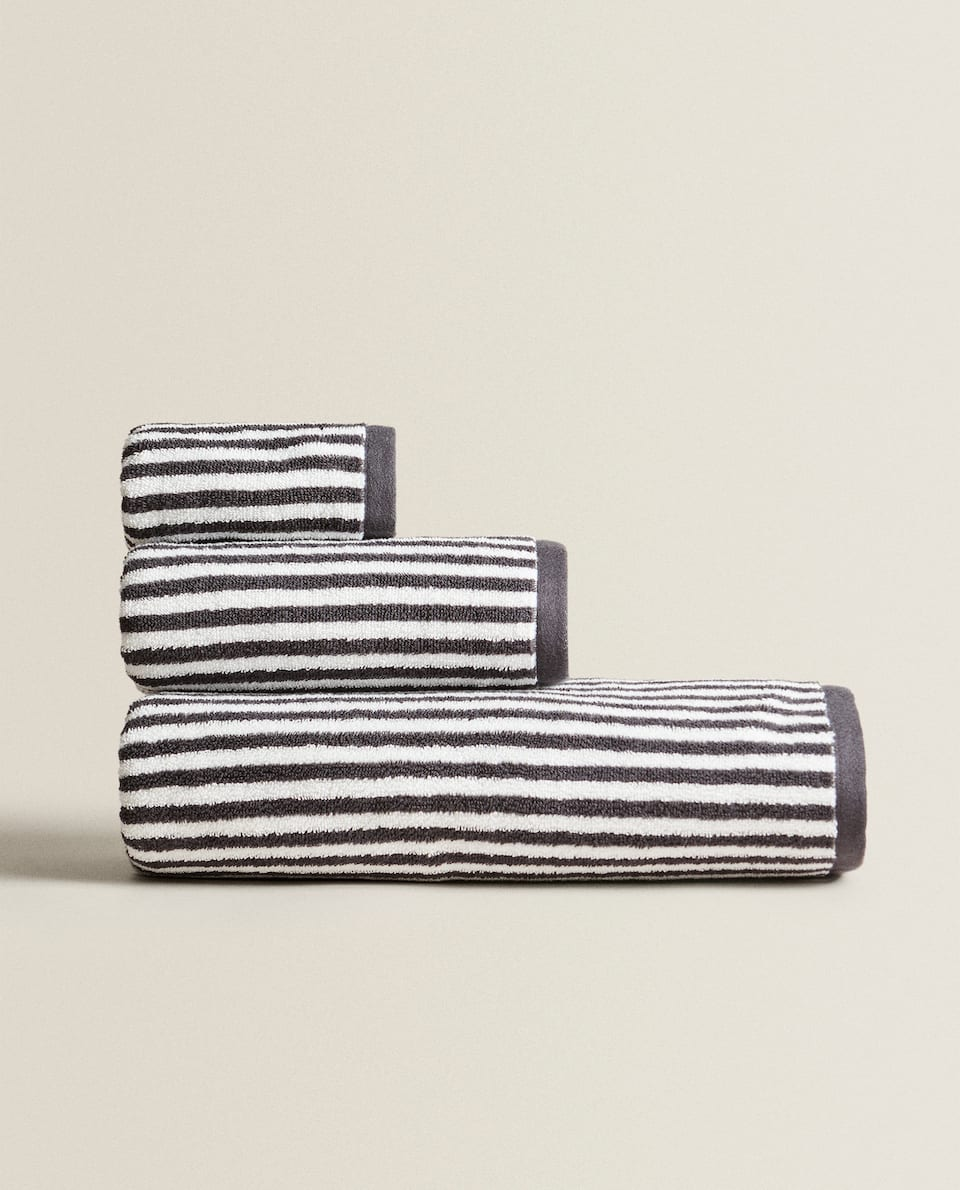 REVERSIBLE STRIPED COTTON TOWEL