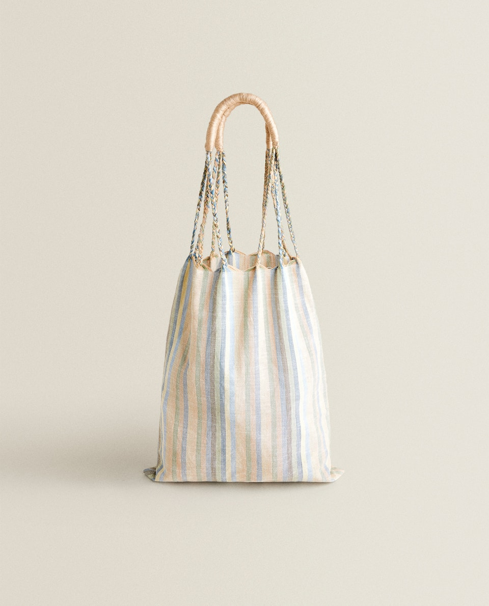 CONTRAST STRIPE BAG