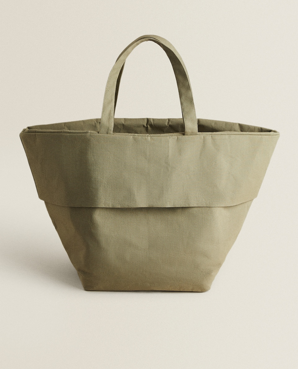PLAIN BEACH BAG