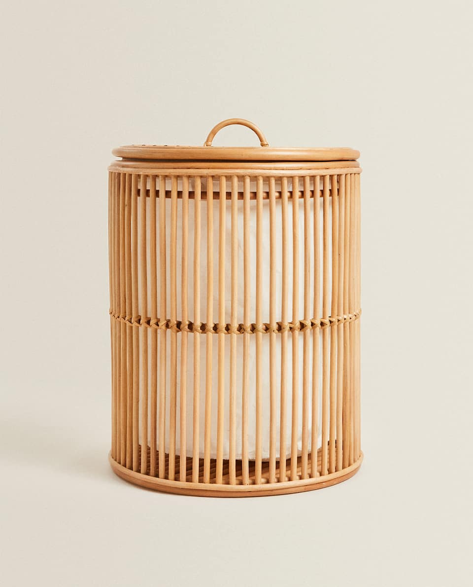 LIMITED EDITION OPEN RATTAN BASKET