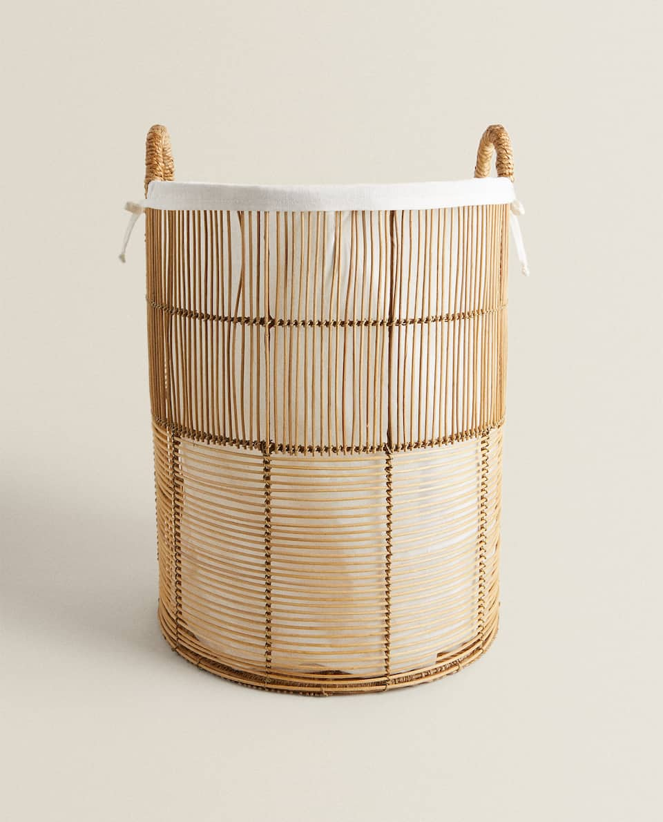 LIMITED EDITION HANDCRAFTED RATTAN BASKET