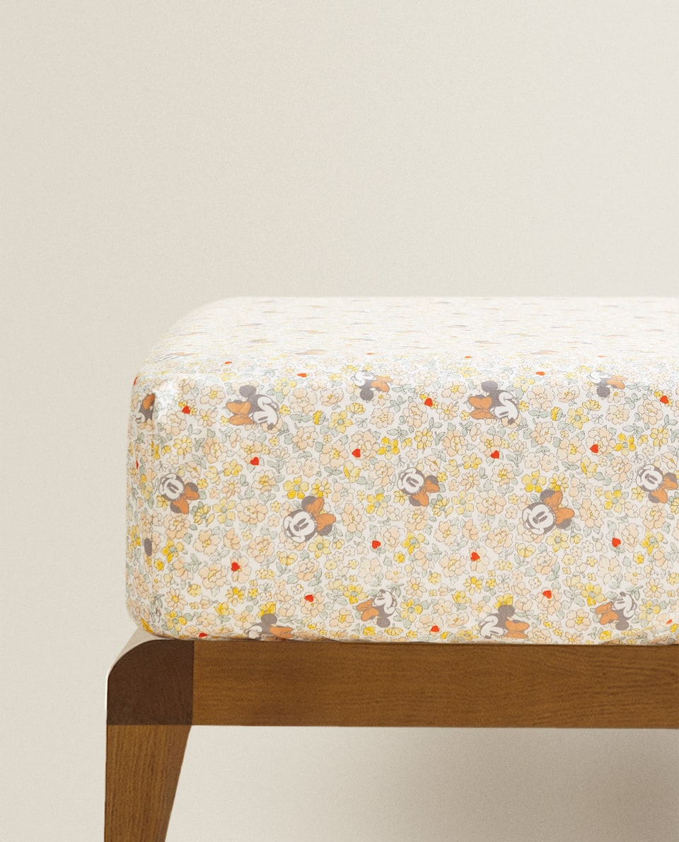 MINNIE PRINT FITTED SHEET