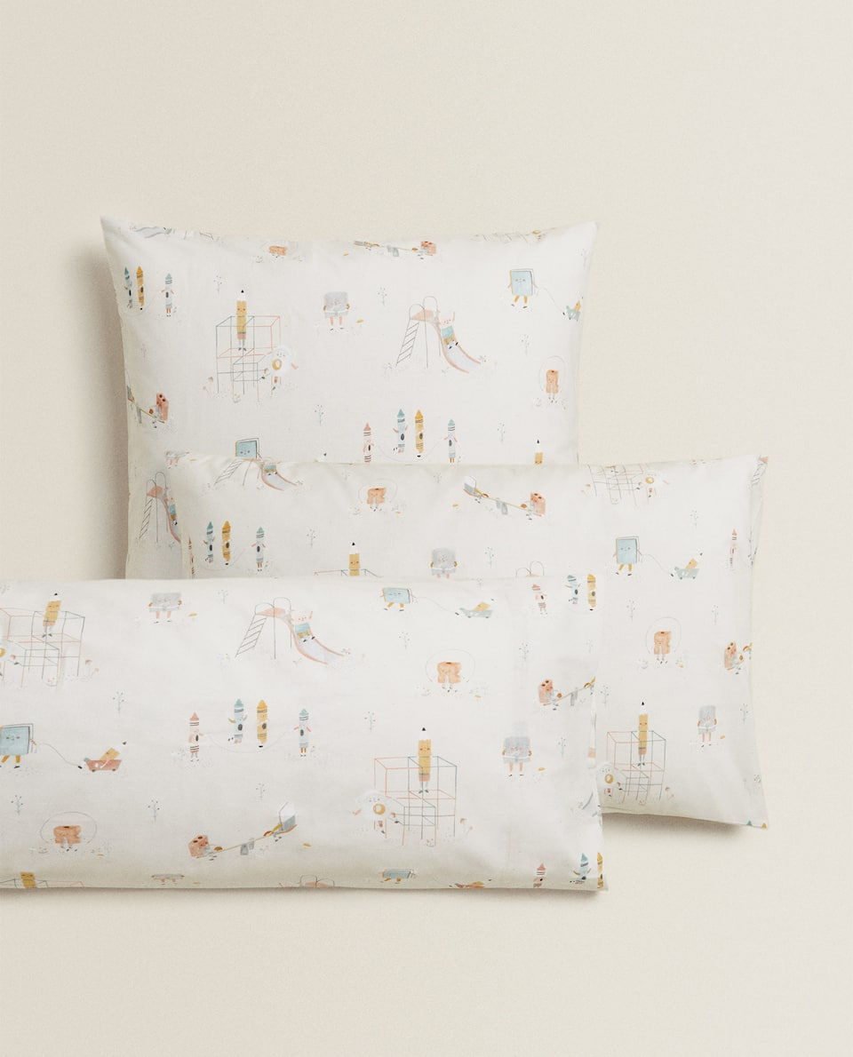 PLAYTIME PRINT PILLOWCASE