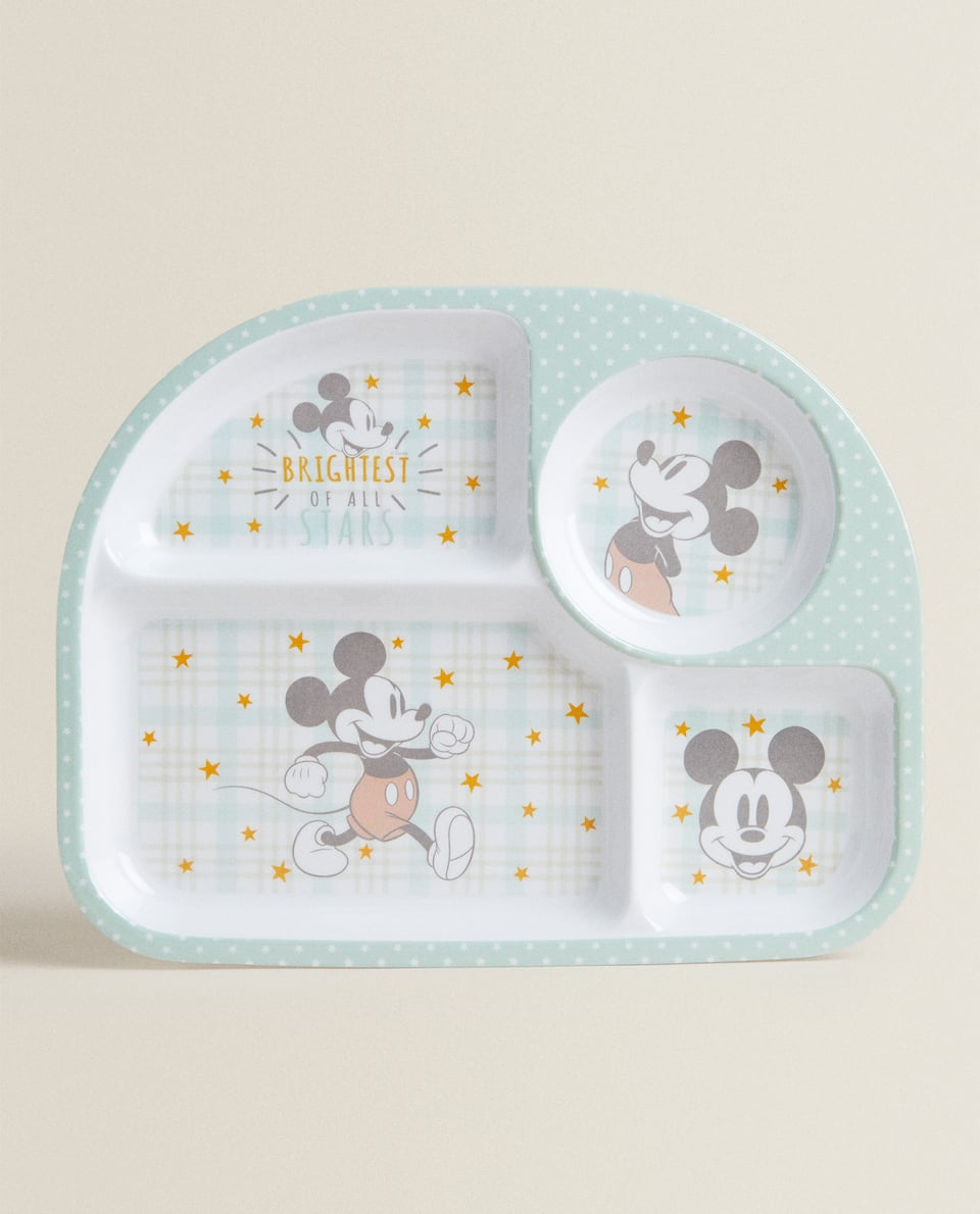 MICKEY MOUSE TRAY WITH COMPARTMENTS
