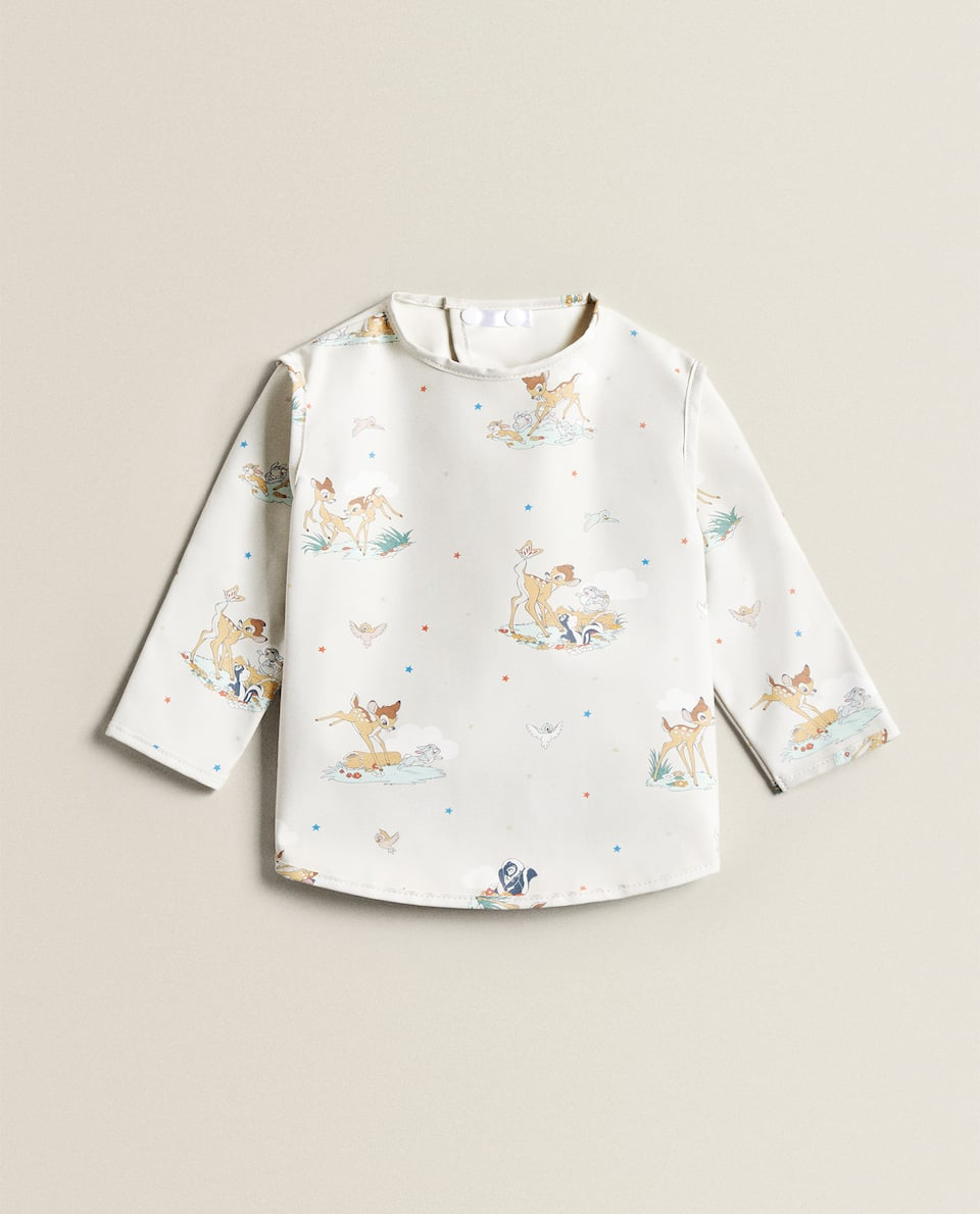 BAMBI DESIGN BIB WITH SLEEVES
