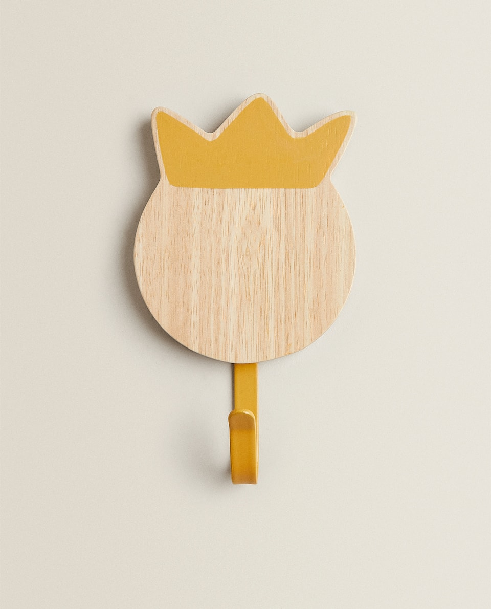 WOODEN CROWN HOOK