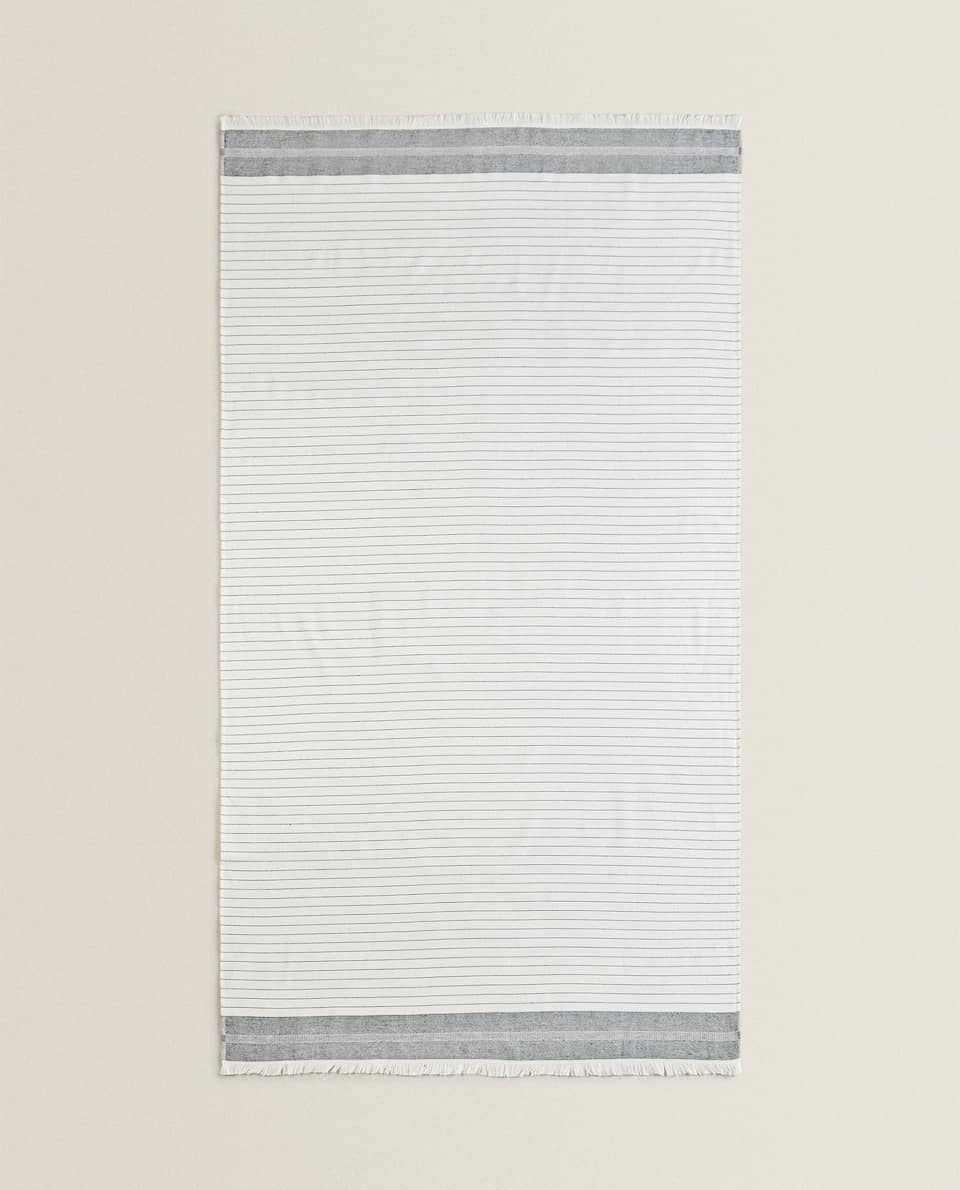 DOUBLE-SIDED BEACH TOWEL