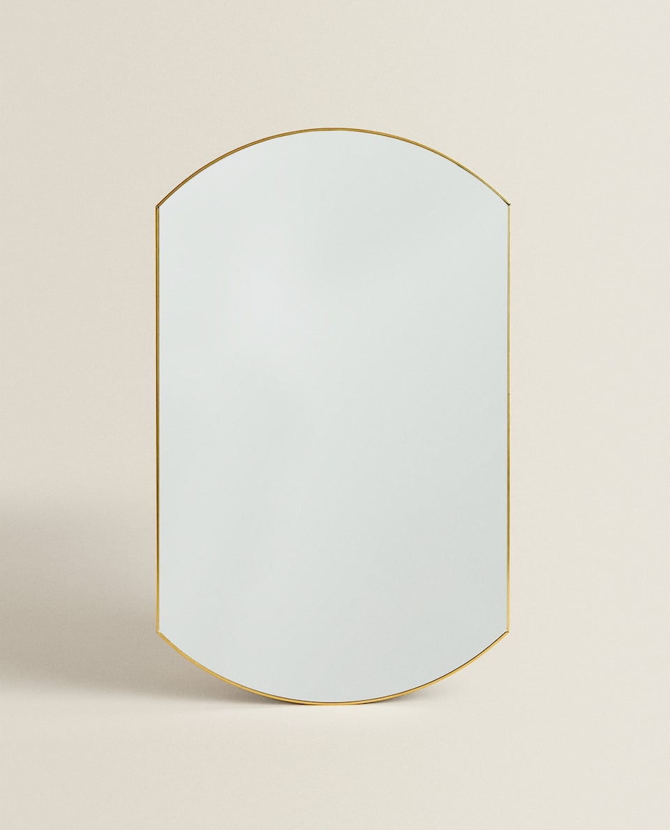 ROUND MIRROR WITH THIN FRAME