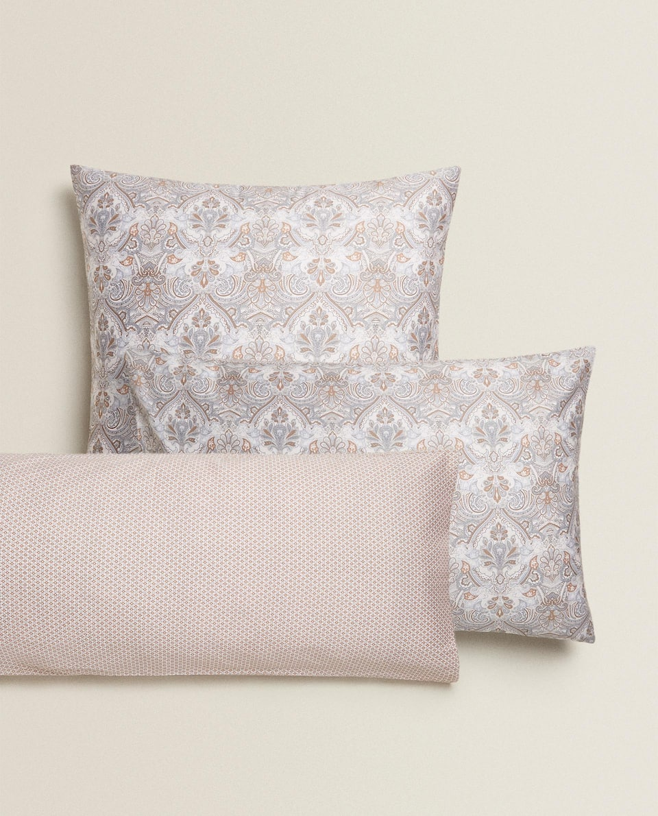PAISLEY SATEEN PILLOWCASE