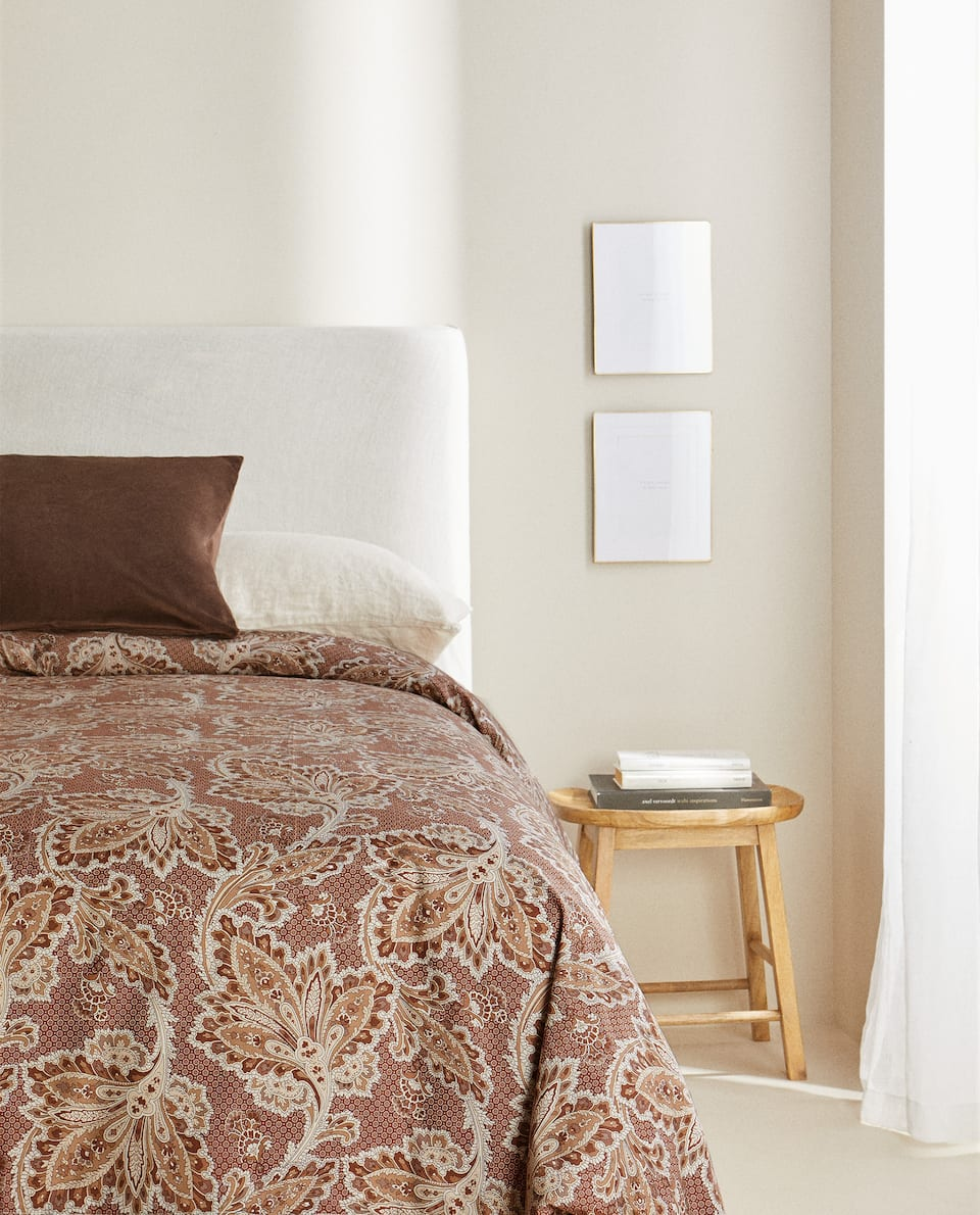 DECORATIVE PRINT DUVET COVER