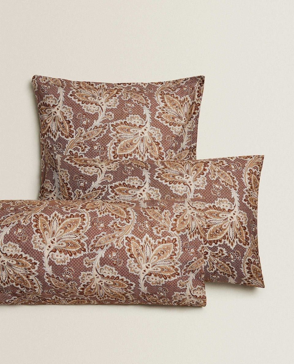 ORNATE PRINT PILLOWCASE