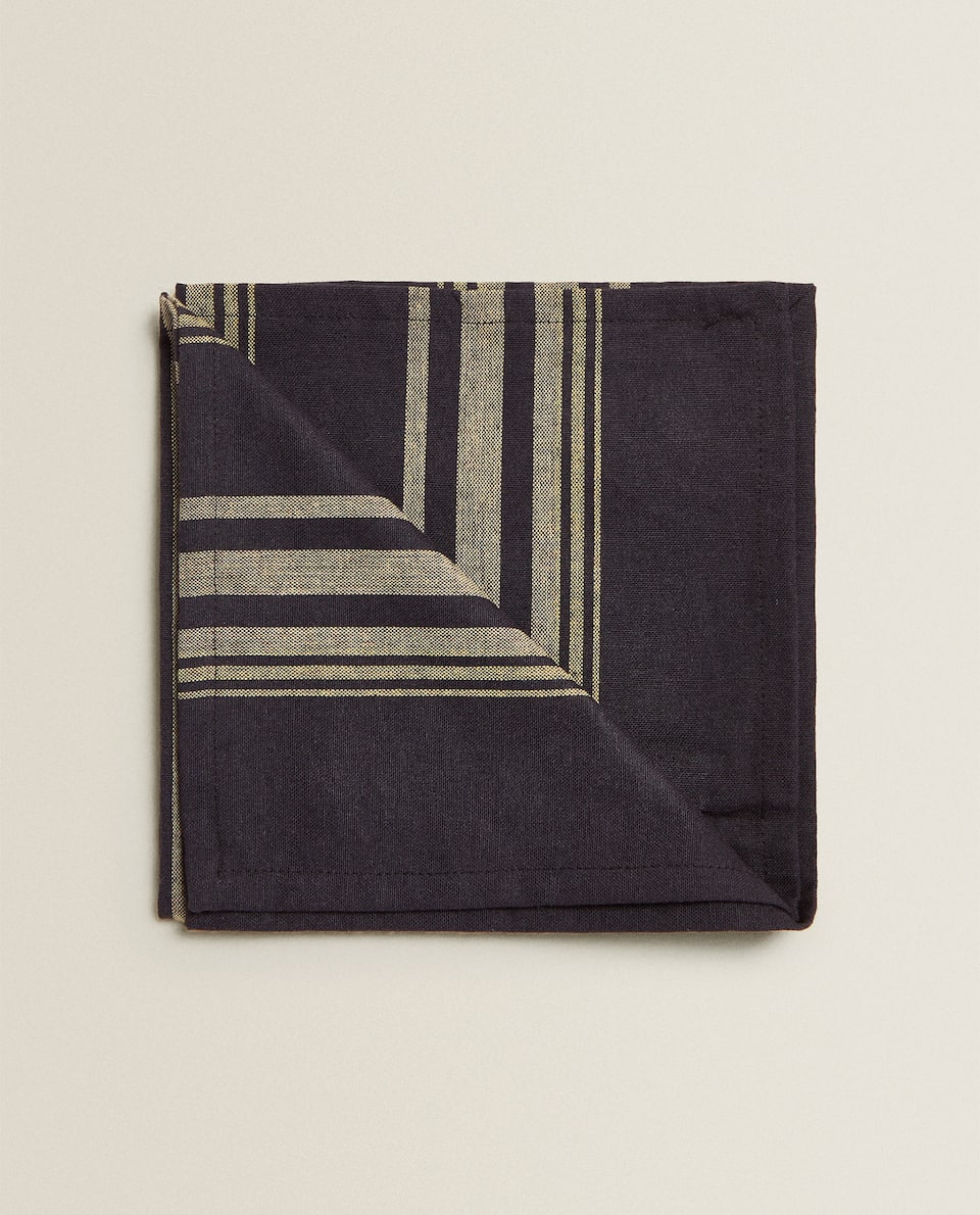 STRIPED NAPKIN (PACK OF 2)