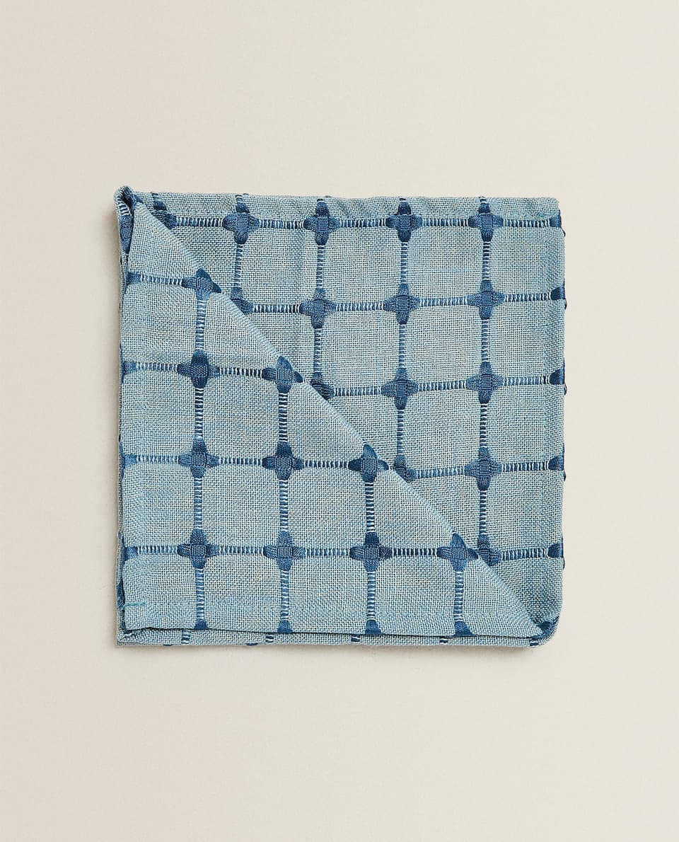 GEOMETRIC JACQUARD NAPKIN (PACK OF 2)