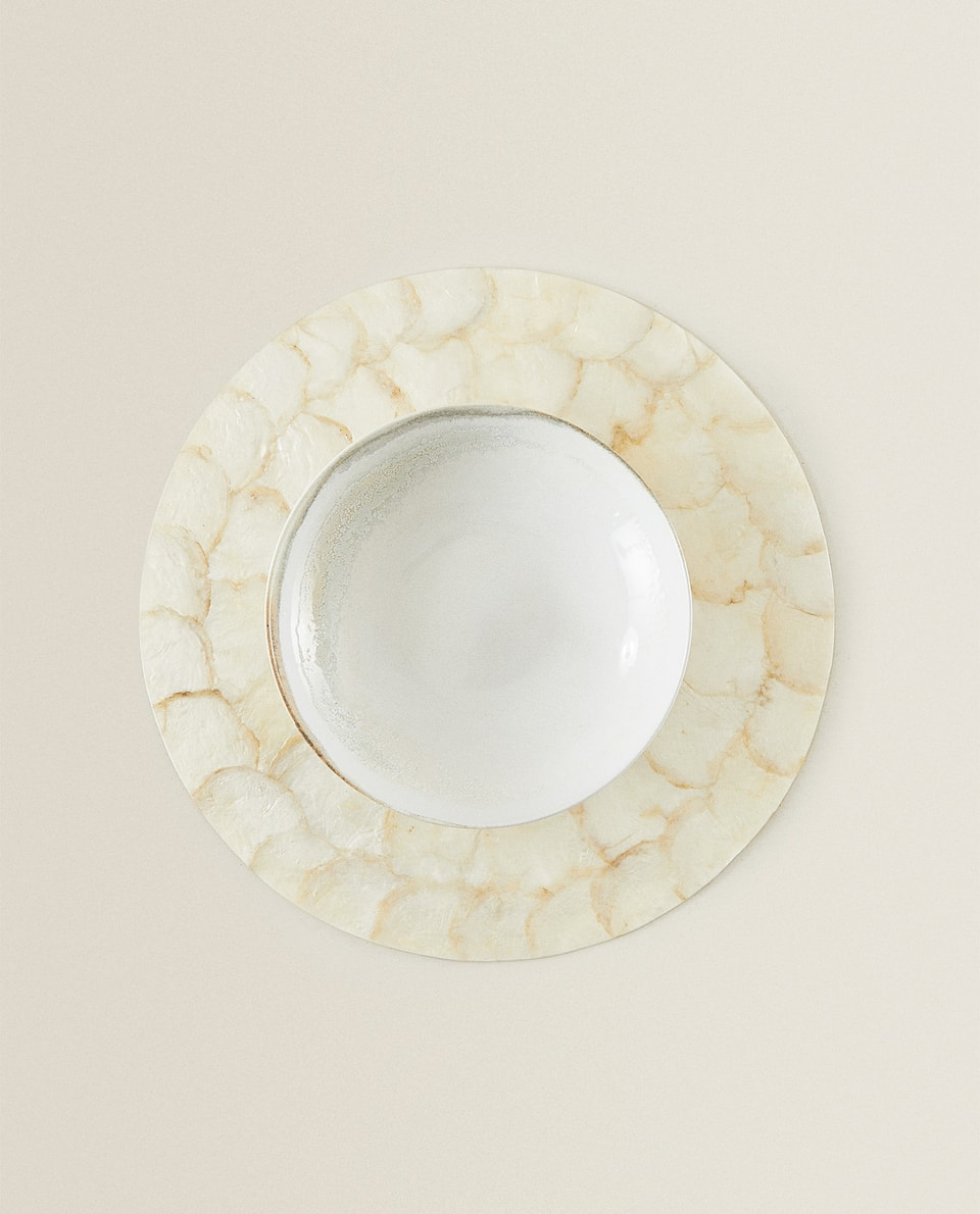 MOTHER-OF-PEARL PLACEMAT