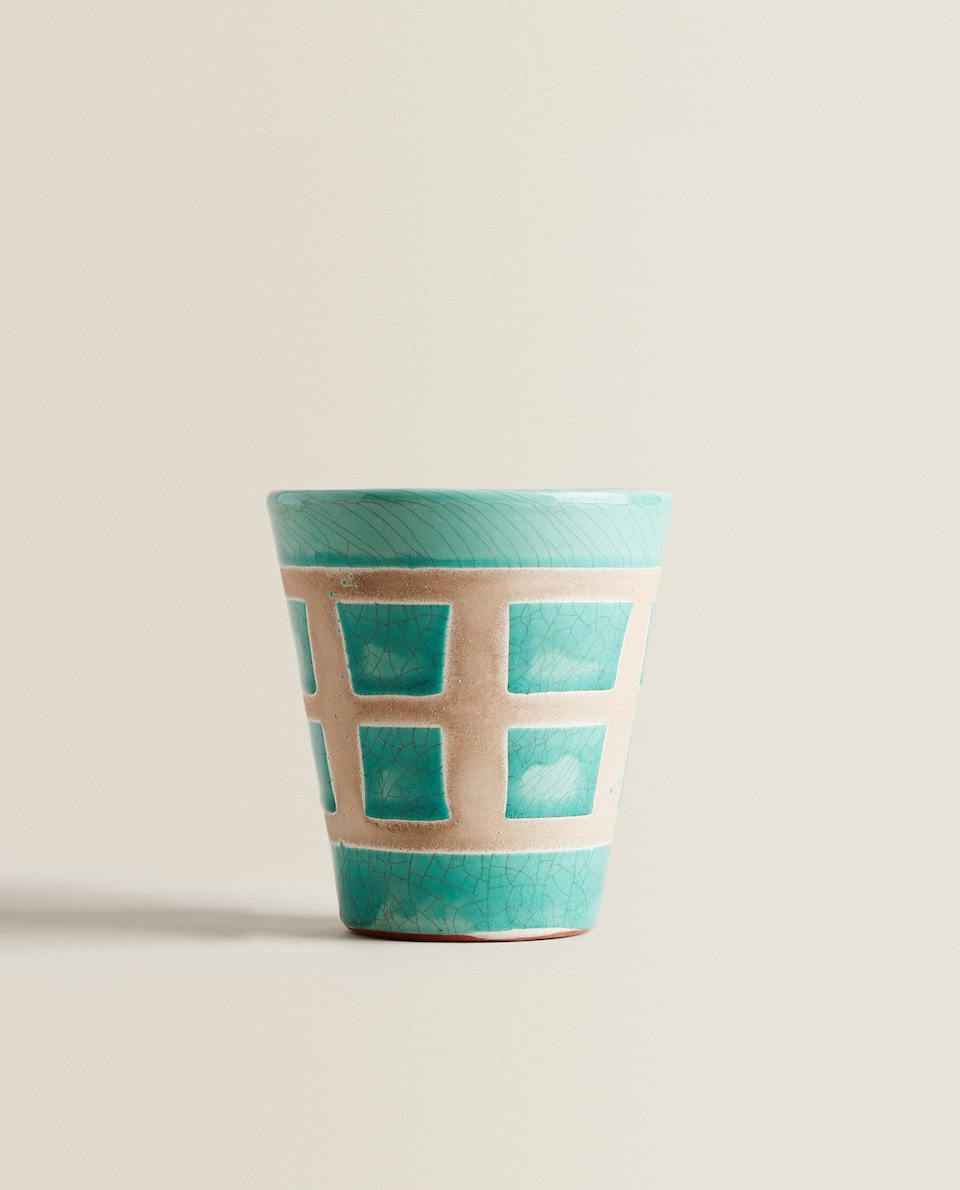 SEA GREEN MINI FLOWERPOT