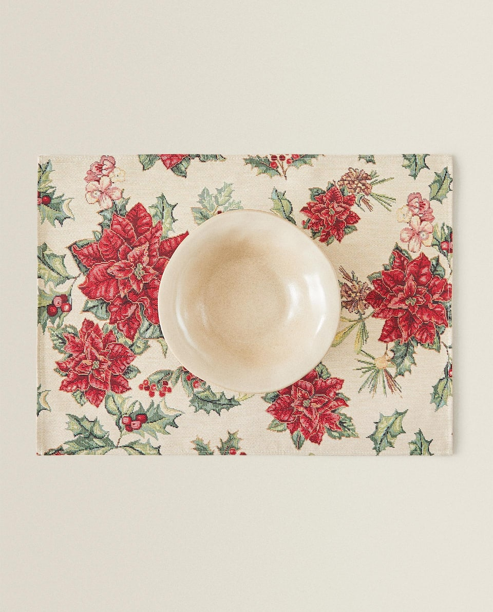 HOLLY JACQUARD PLACEMAT