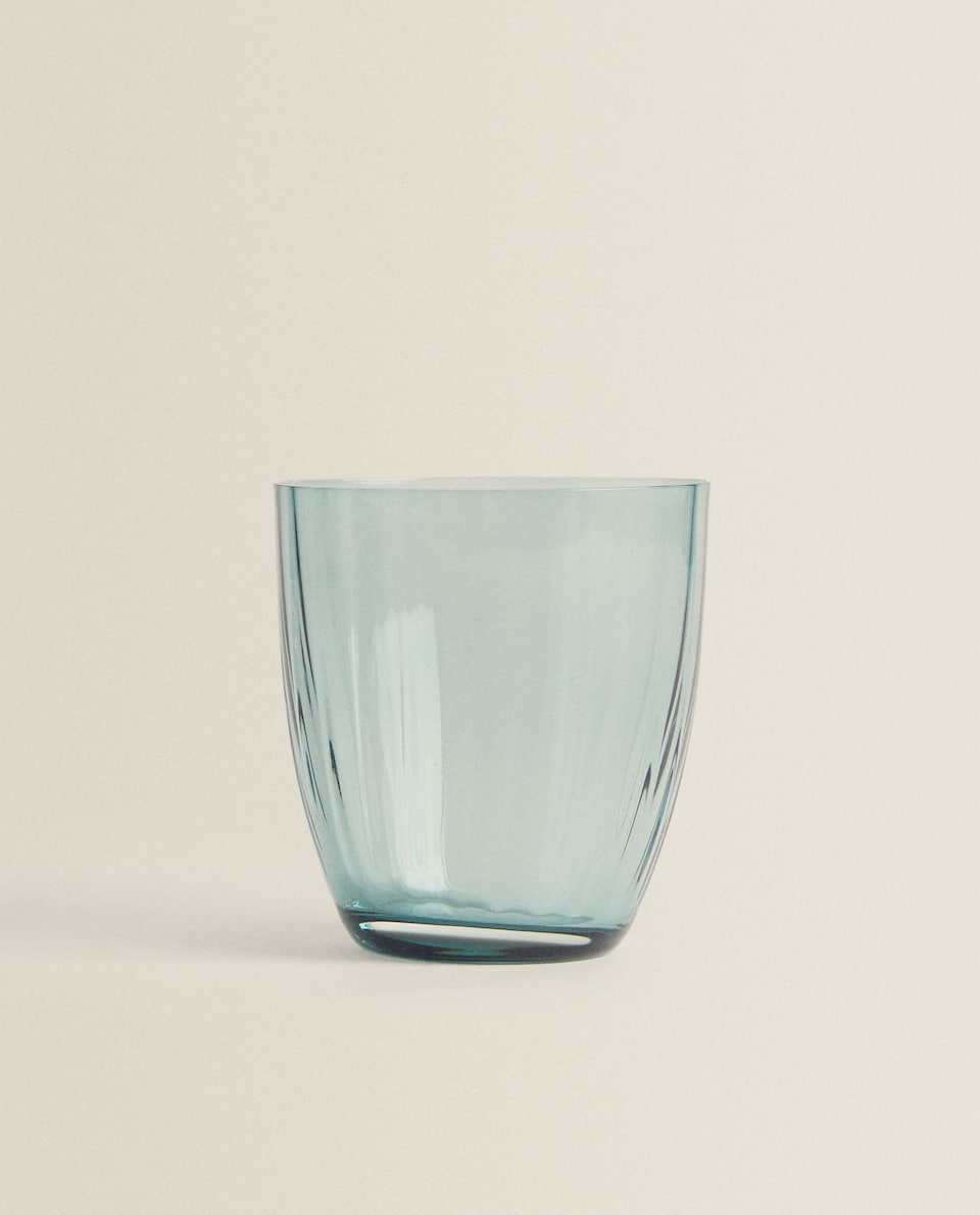 BOHEMIA CRYSTAL COLOURED GLASS TUMBLER