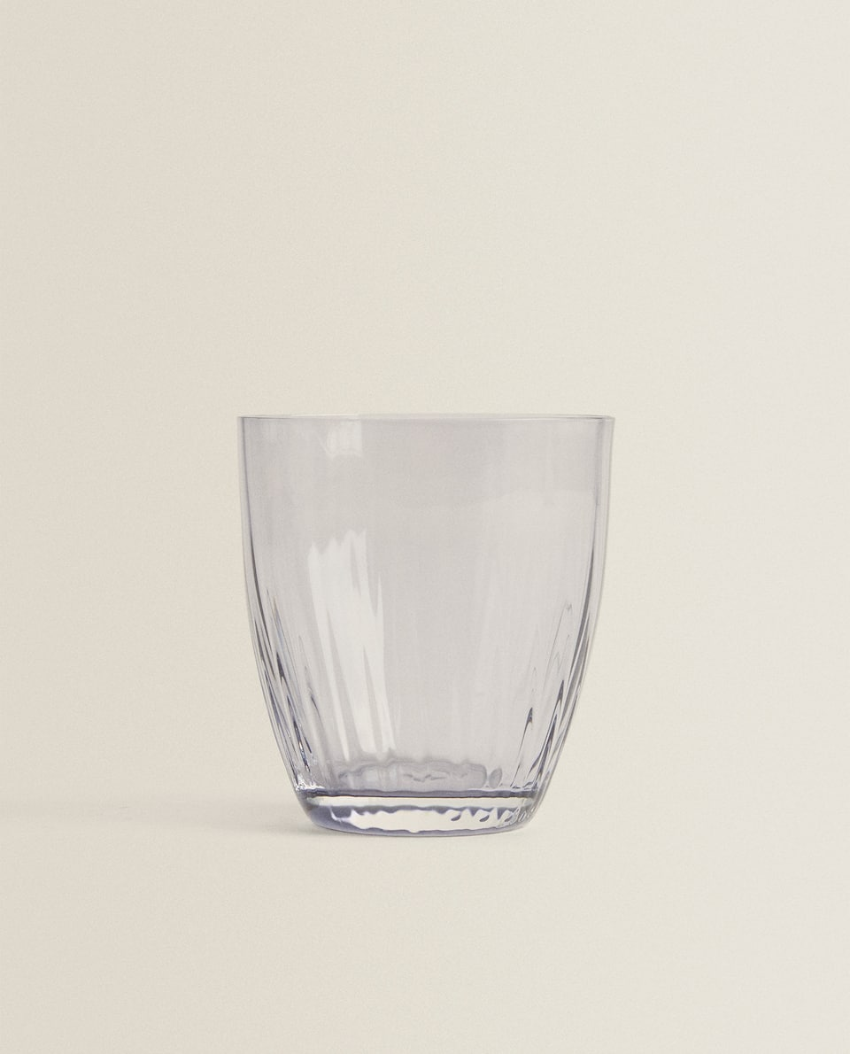 BOHEMIA CRYSTAL COLORED GLASS TUMBLER