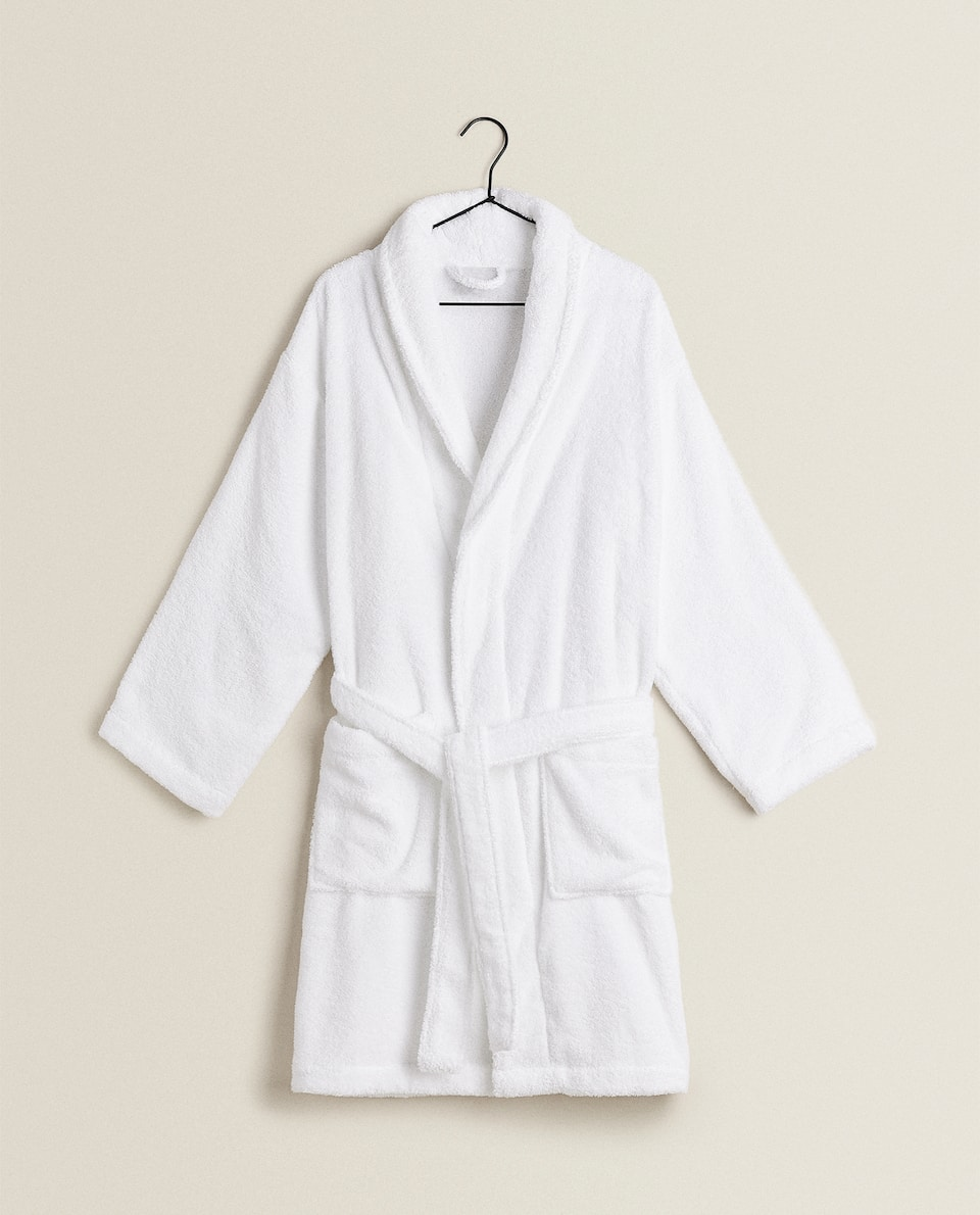 CUSTOMISABLE COTTON BATHROBE