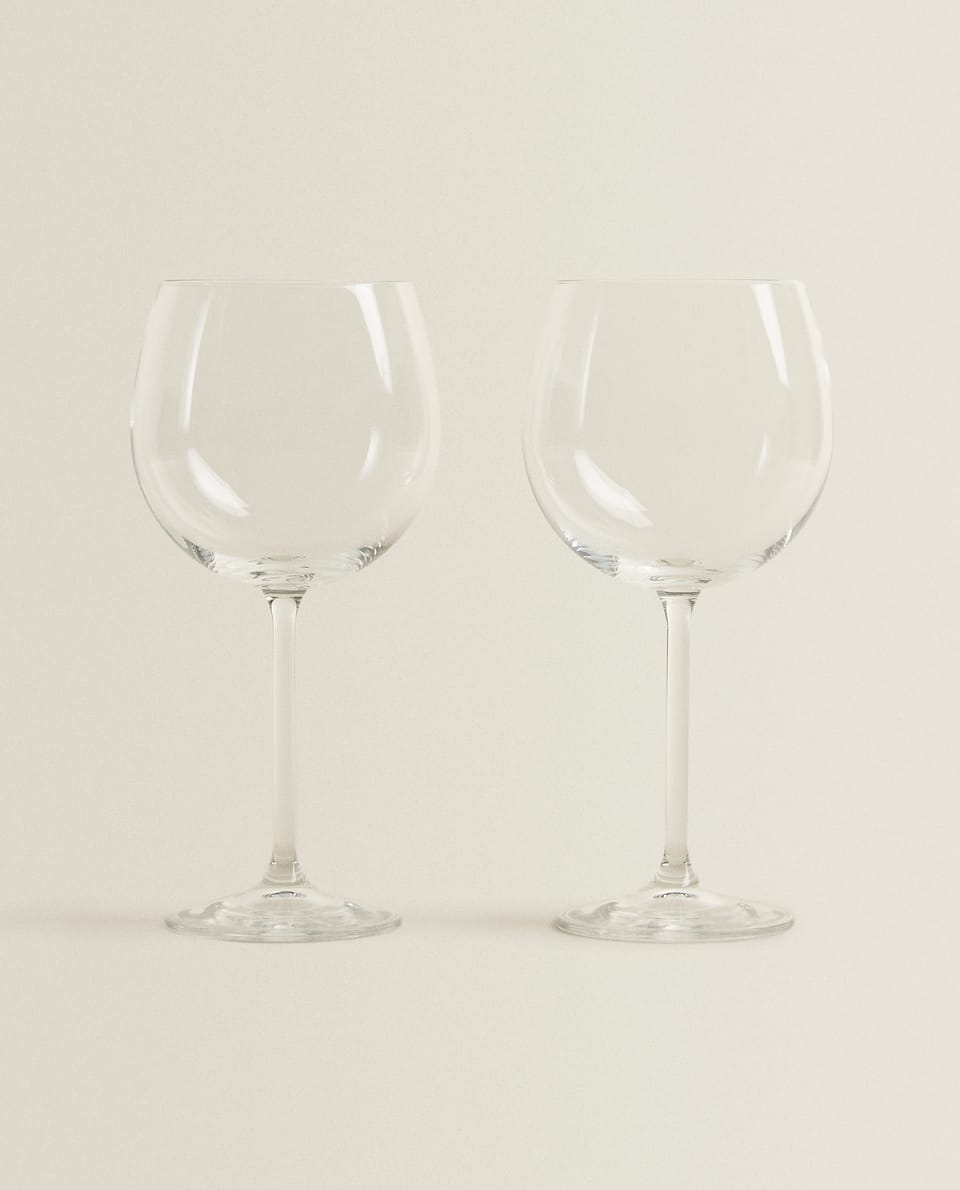 BURGUNDY WINE GLASS (SET OF 2)