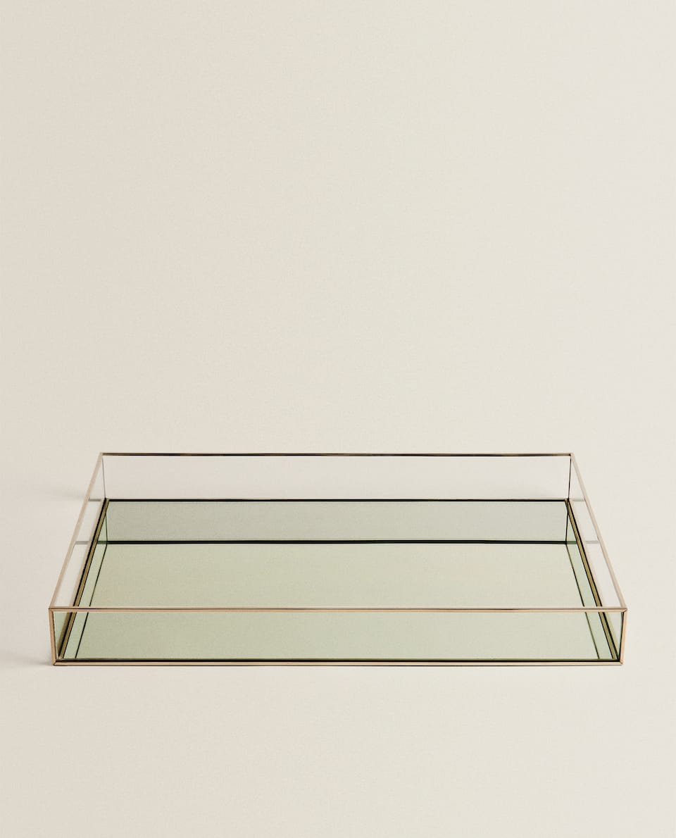 RECTANGULAR MIRROR TRAY