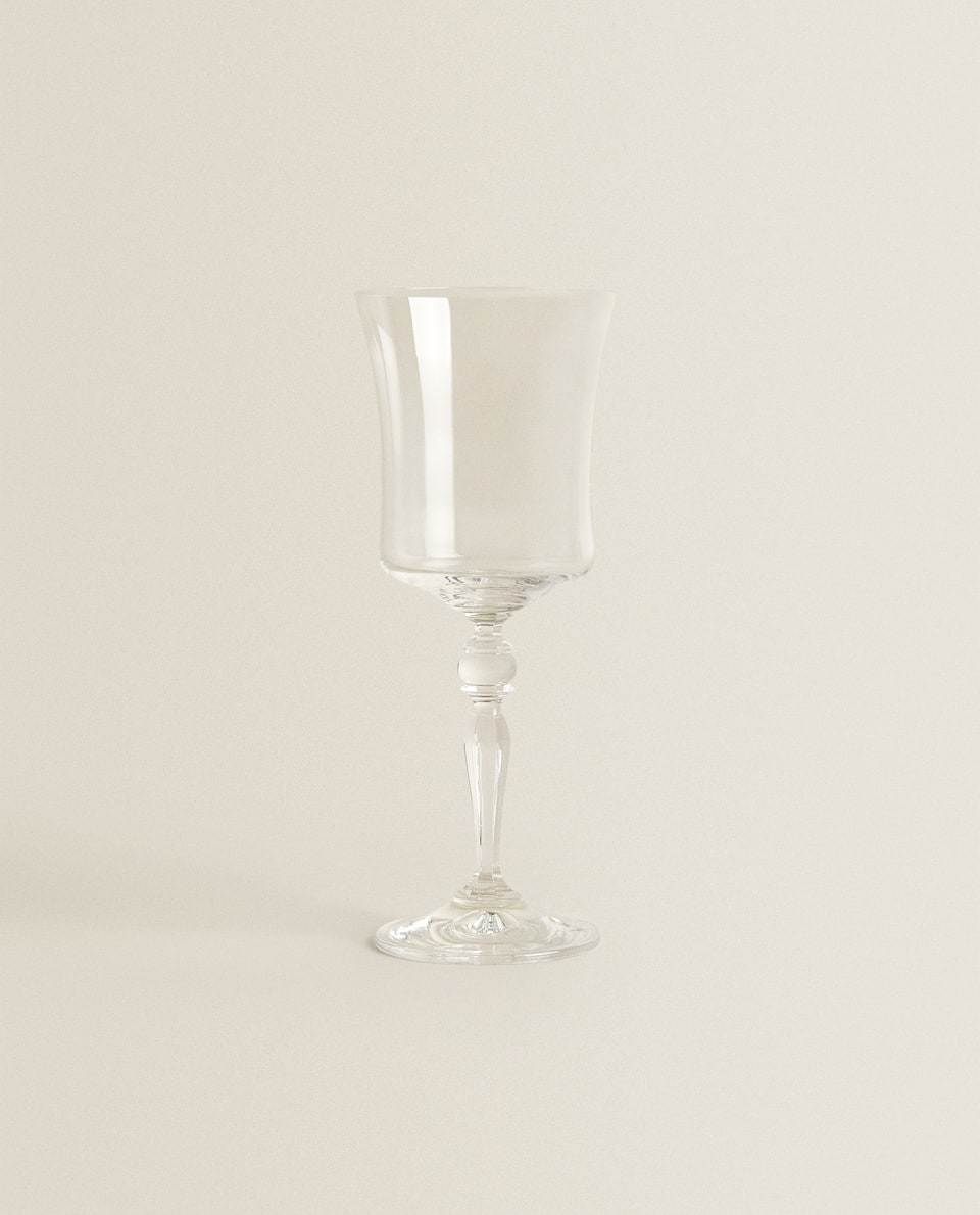 BOHEMIA CRYSTAL WATER GLASS
