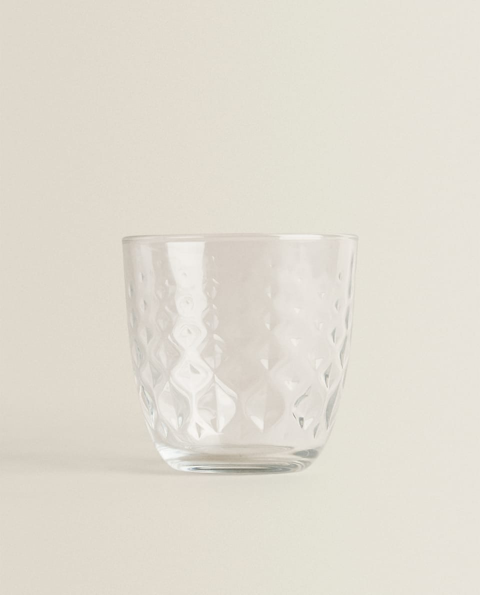 RAISED DESIGN TUMBLER