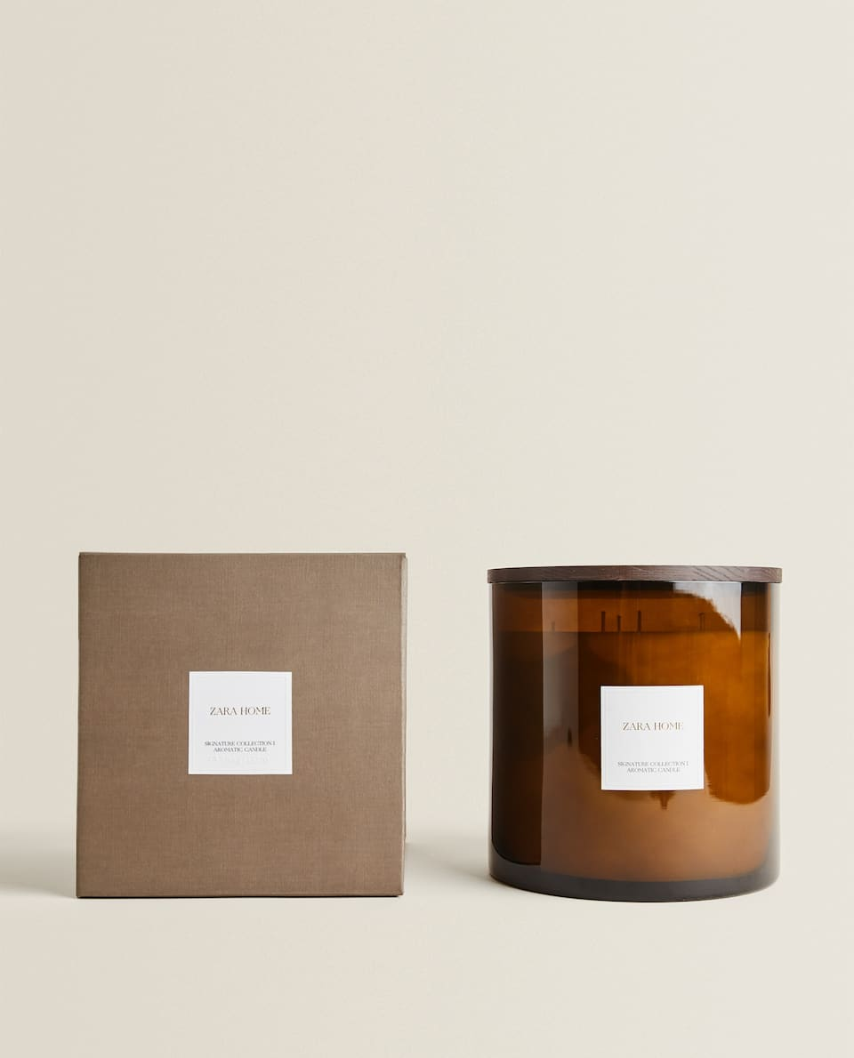 BOUGIE PARFUMÉE I SIGNATURE COLLECTION (3,6 KG)