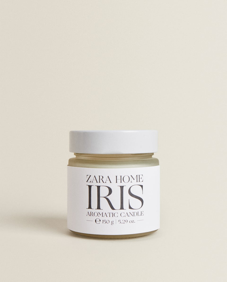 IRIS SCENTED CANDLE (150 G)