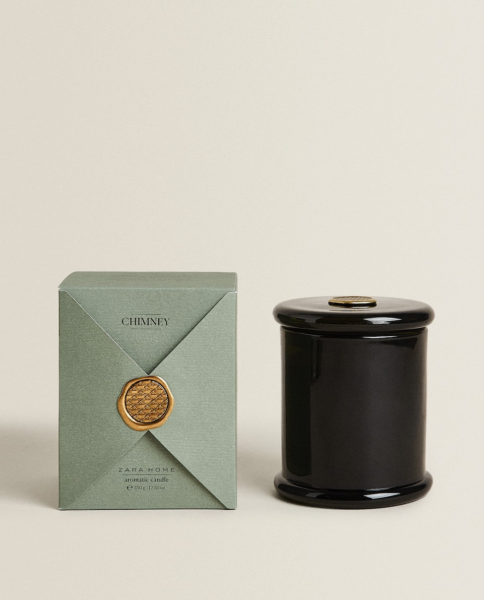 (350 G) CHIMNEY SCENTED CANDLE