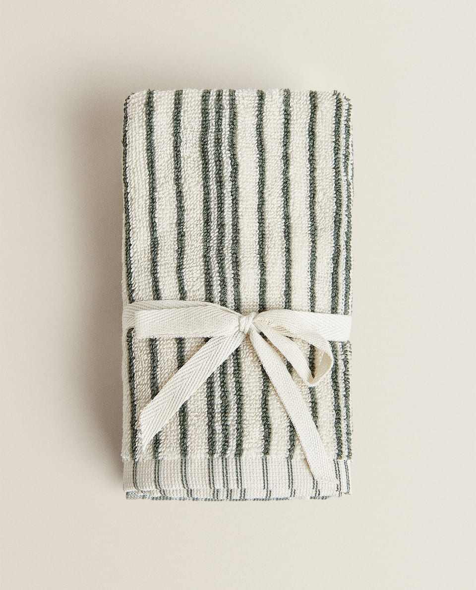 STRIPED TOWEL (PACK OF 2)