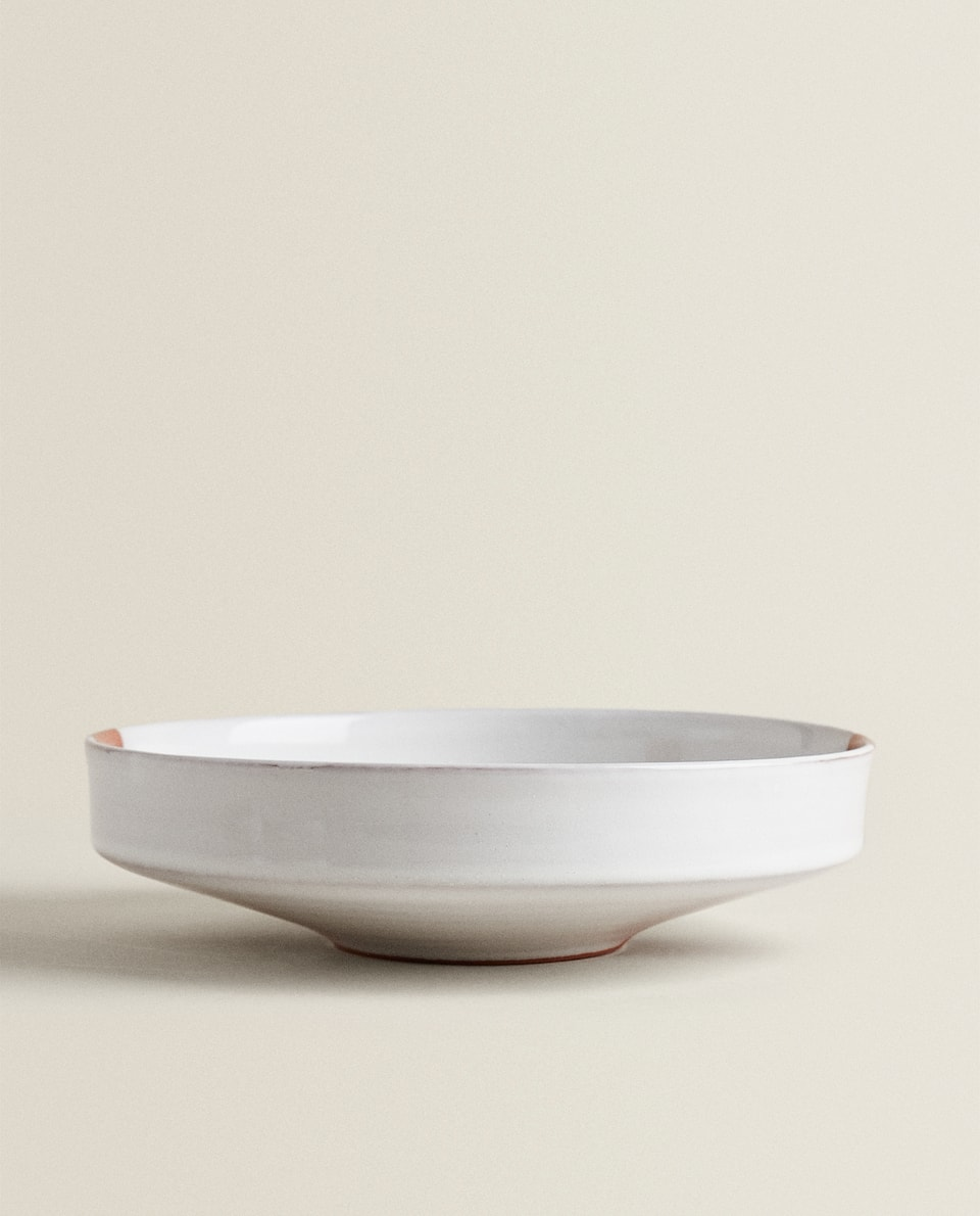 TWO-TONE TERRACOTTA SALAD BOWL