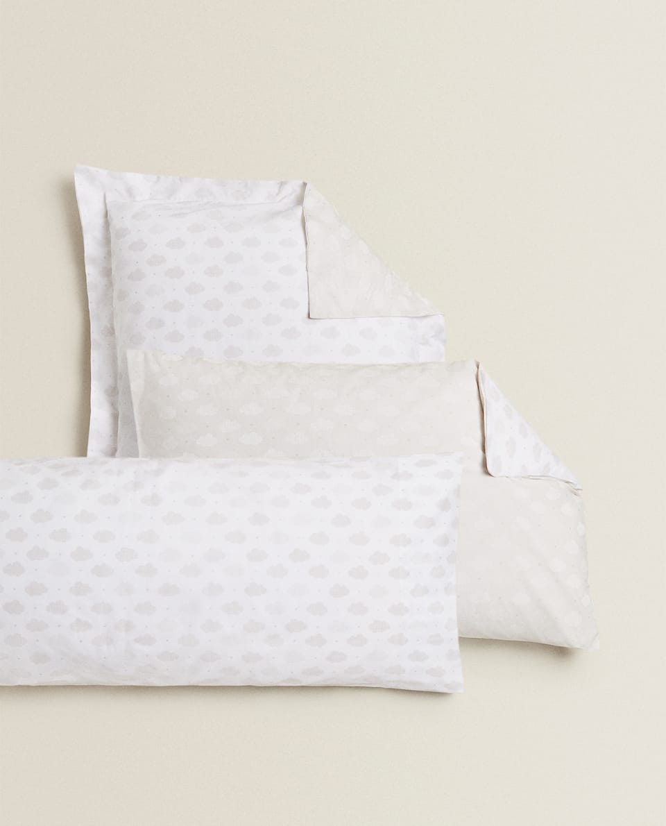 CLOUDS AND STARS PILLOWCASE