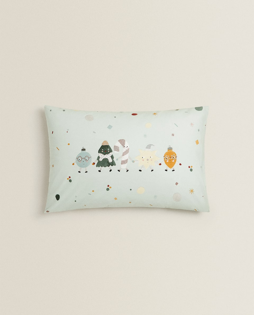 HO HO HO PILLOWCASE